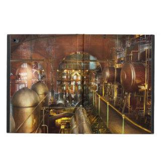 Steampunk - pense - tanques capa para iPad air 2