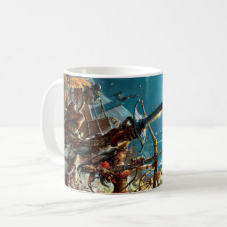 Steampunk pirateia a caneca