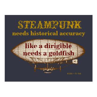 Steampunk precisa o cartão