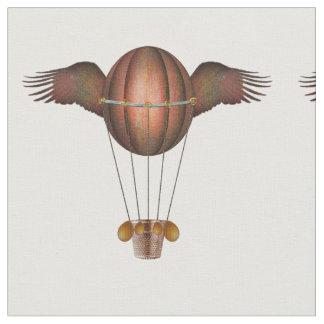 Steampunk voou o tecido do balão