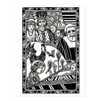 Stefan diz a princesa Um História Cartão Postal