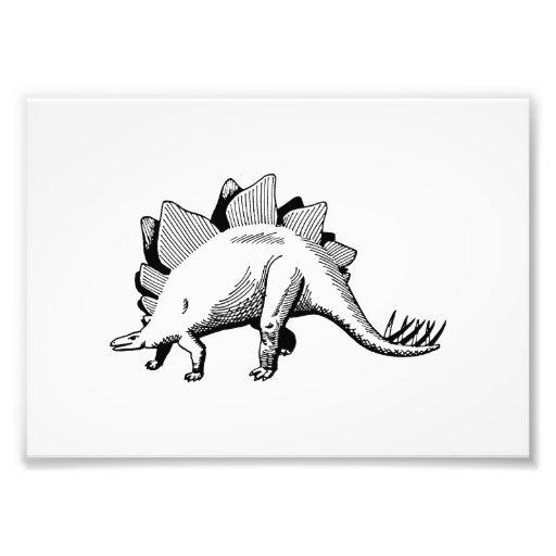 Stegosaurus Fotografia