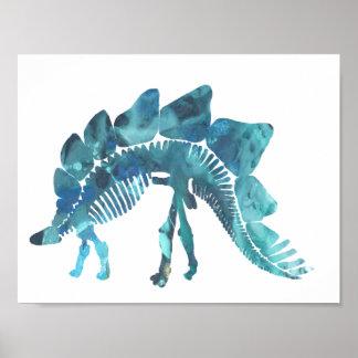 Stegosaurus Pôster