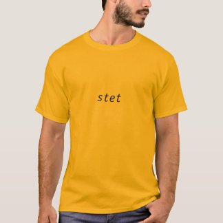 stet camiseta
