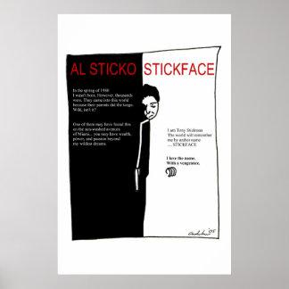 Stickface Poster
