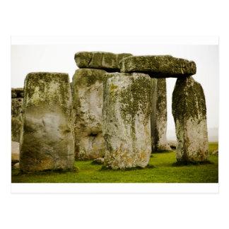 Stonehenge antigo, cartão BRITÂNICO
