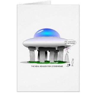 Stonehenge Cartão Comemorativo
