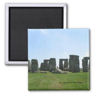Stonehenge Ímã Quadrado