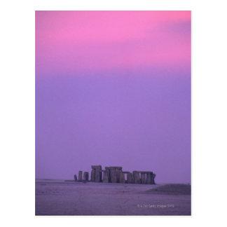 Stonehenge, Inglaterra Cartão Postal