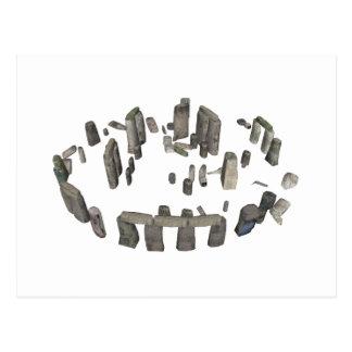 Stonehenge: modelo 3D: Cartão Postal