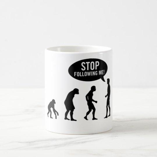 Stop Following Me Caneca De Café