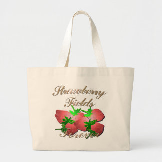Strawberry Fields ensaca Sacola Tote Jumbo