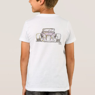 Streetrod no t-shirt das Bella-Canvas dos miúdos Camiseta