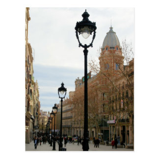 Stroll de Barcelona - Portal del Anjo Cartão Cartão Postal