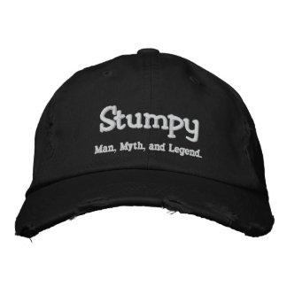 Stumpy, homem, mito, e legenda bonés bordados