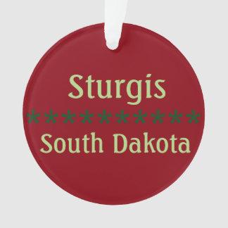 Sturgis customizável, ornamento de South Dakota
