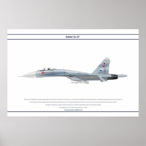 Su-27 Rússia 2 Poster