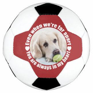 SUA bola de futebol feita sob encomenda do amor da