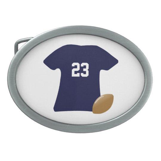 Sua camisa do futebol com bola