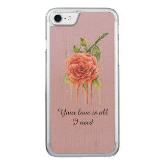Sua capa de telefone do amor