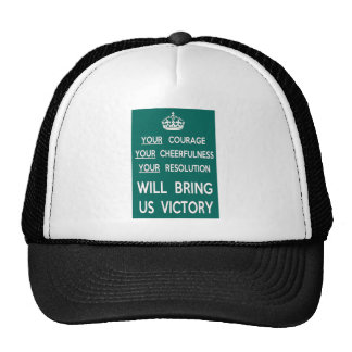 Sua coragem trar-nos-á a vitória bones