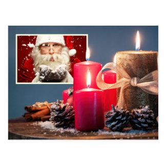 SUA FOTO com o cartão feito sob encomenda do Natal