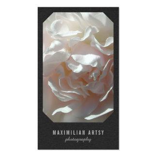 [Sua imagem] olhar de papel Textured escuro Cartão De Visita