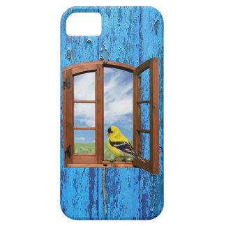 Suas capas de iphone amarelas livres da janela do