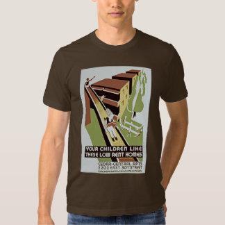 Suas crianças gostam destas baixas casas do camisetas