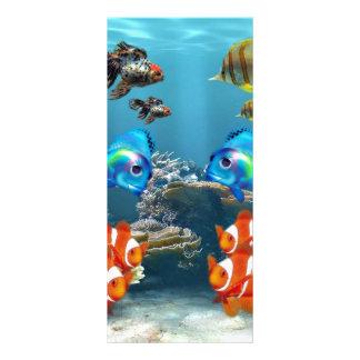 Subaquático Panfleto Personalizado