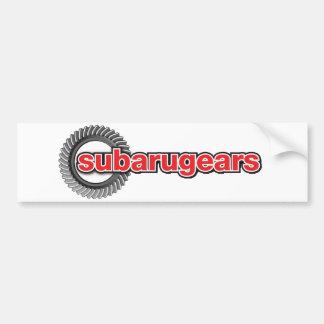 Subarugears Adesivo De Para-choque
