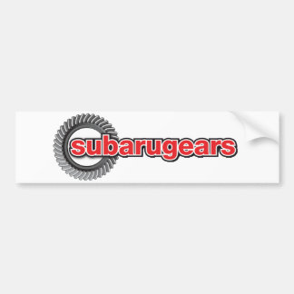 Subarugears Adesivo Para Carro