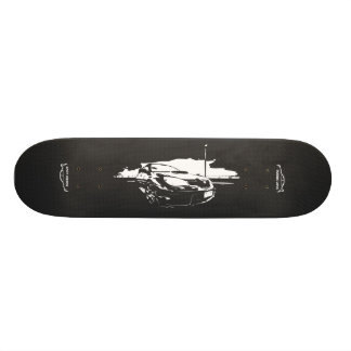 Subbie com fibra do carbono do falso shape de skate 18,4cm
