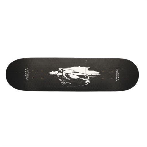 Subbie com fibra do carbono do falso skates personalizados