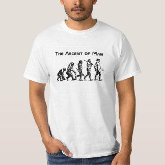 Subida do T do homem Camiseta