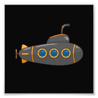 Submarino Impressão De Foto