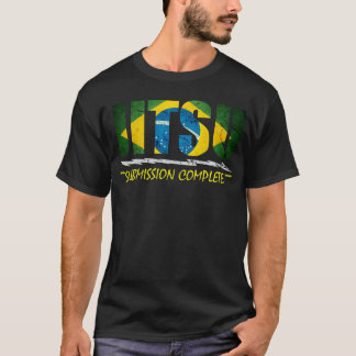 Submissão completa - t-shirt de Jiu Jitsu do Camiseta