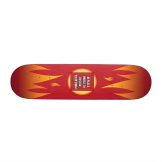 Substitua a imagem para projetar seus próprios! shape de skate 20,6cm