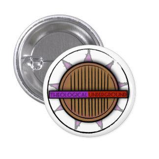Subterrâneo teológico do botão do logotipo bóton redondo 2.54cm