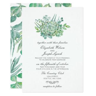 Succulents sensacionais que Wedding convites