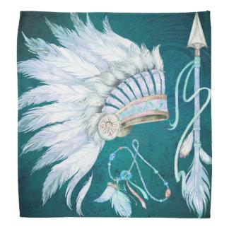 Sudoeste da seta da mantilha do nativo americano bandana