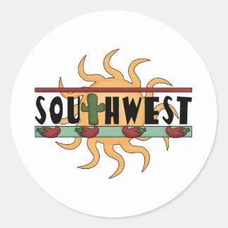 Sudoeste - pimentas & Sun de pimentão Adesivo