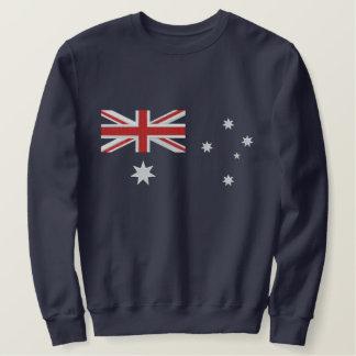 Suéter Bordado Bordado australiano clássico da bandeira