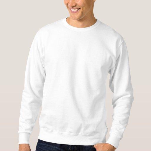 Branco Embroidered Moletom básico