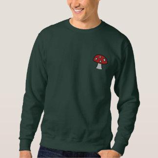 Suéter Bordado Cogumelo vermelho camisola bordada