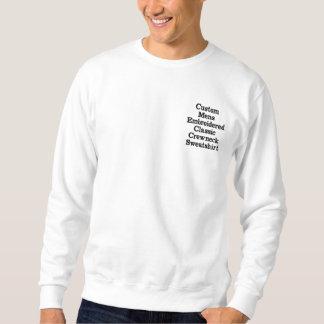 Suéter Bordado Criar homens feitos sob encomenda a camisola