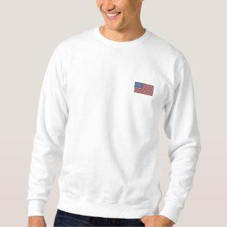Suéter Bordado Declaração de independência patriótica