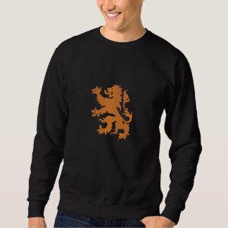 Suéter Bordado Dutch desenfreado holandês Oranje Holland do leão
