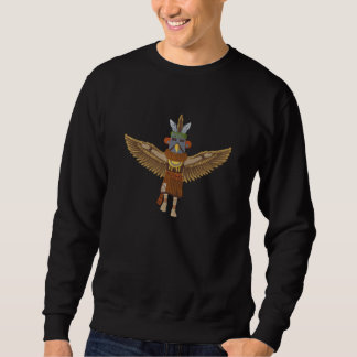 Suéter Bordado Eagle Kachina