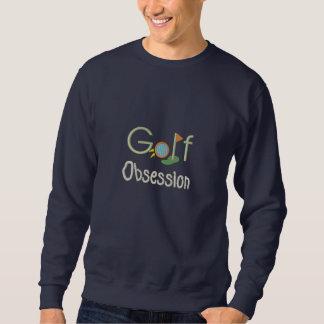 Suéter Bordado Golfing da obsessão do golfe